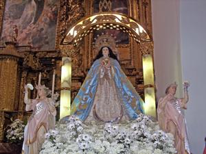 Virgen Inmaculada Concepción - Patrona de Escalona - Ayuntamiento de Escalona
