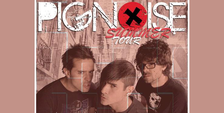 El popular grupo de música «PIGNOISE» actuará en Escalona el viernes 12 de agosto