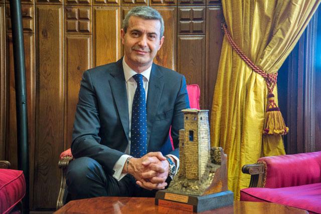 Álvaro Gutiérrez - Alcalde de Escalona - Ayuntamiento de Escalona