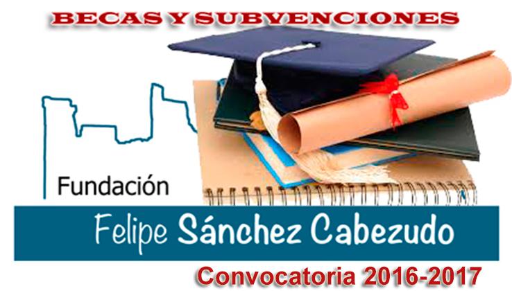 Convocatoria de ayudas al Estudio de la Fundación Felipe Sánchez Cabezudo de Escalona