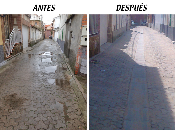 Escalona sigue embelleciendo sus calles