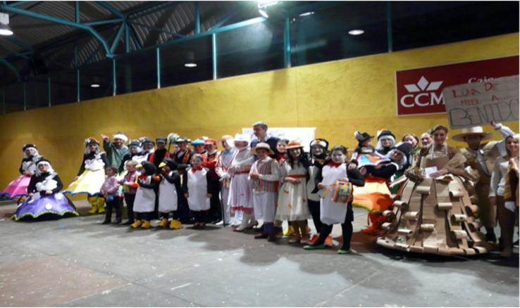 Fiesta de color, diversión y alta participación en los Carnavales 2014