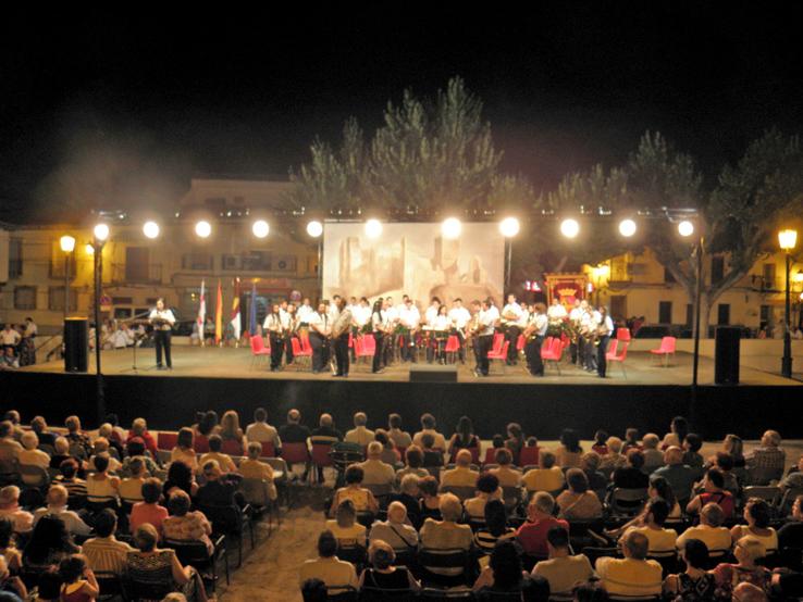 Escalona celebra su XXV Encuentro Regional de Bandas de Música «Villa de Escalona»