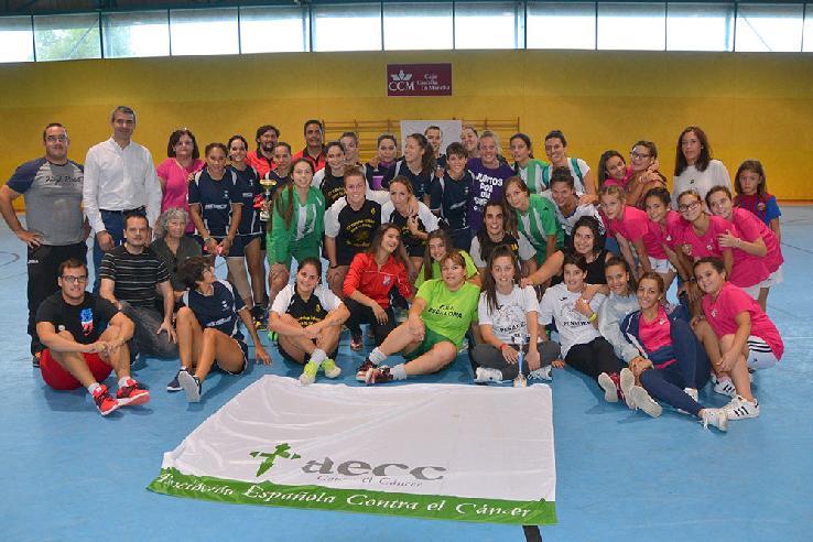 Más de 3.000€ recaudados durante la celebración del Torneo de Fútbol Sala Femenino benéfico a favor de AECC Asociación Española contra el Cáncer