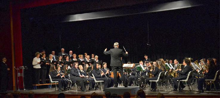 Extraordinario concierto de la Asociación Musical Santa Cecilia con motivo de la festividad de su Patrona