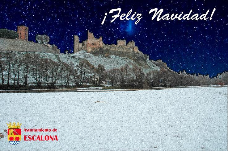El Ayuntamiento de Escalona les desea una Feliz Navidad y un Feliz 2017