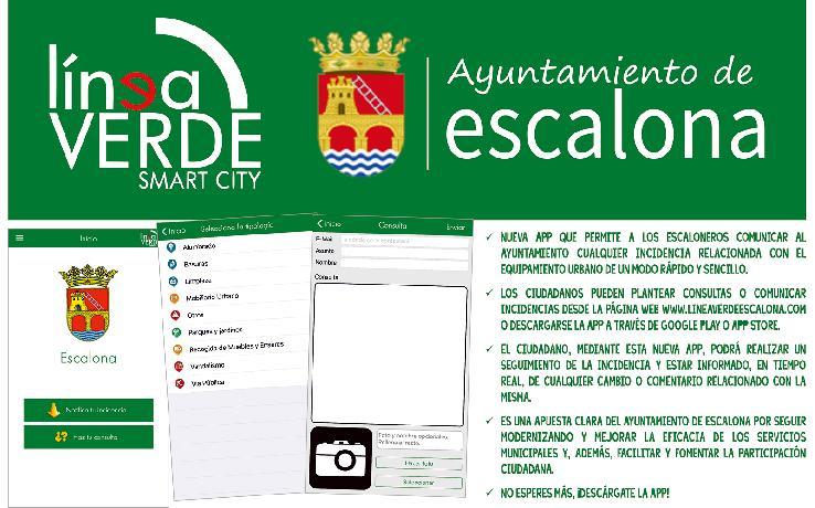 Línea Verde Escalona, un nuevo servicio de comunicación entre ciudadano y ayuntamiento