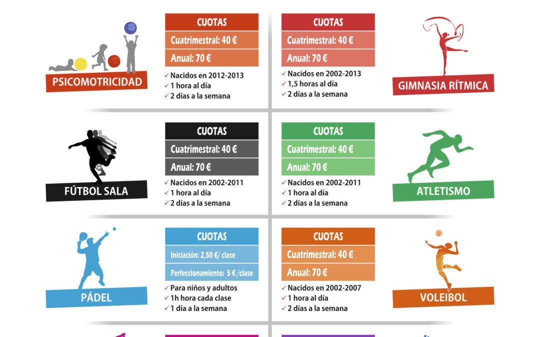 Escuelas Deportivas 2017-2018