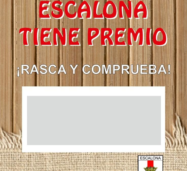 Con la Nueva Campaña de Promoción del Comercio Local ¡Comprar en Escalona tiene premio!