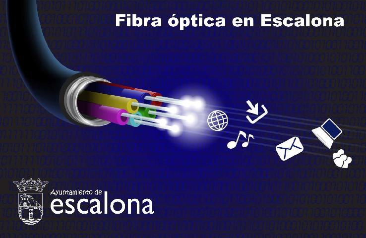 Antes de que finalice el año, toda Escalona dispondrá de Fibra Óptica tras el acuerdo alcanzado entre el Ayuntamiento y una importante empresa de telecomunicaciones