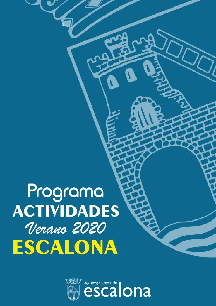 Programa de Ferias y Fiestas Verano 2018 - Ayuntamiento de Escalona
