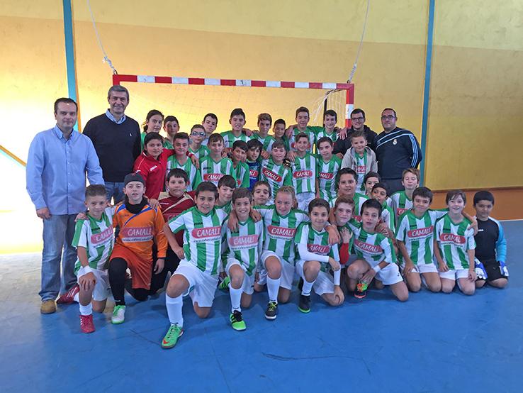 Debut de los equipos de las Escuelas Deportivas Municipales de Escalona en la Liga Diputación para el Deporte en Edad Escolar
