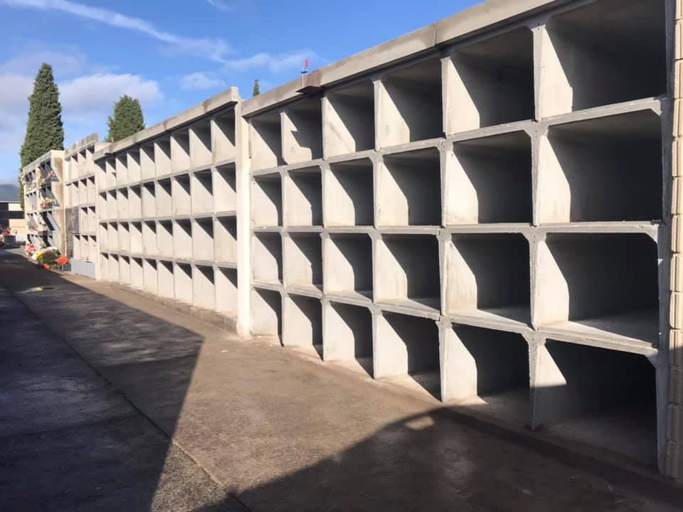 El Ayuntamiento de Escalona cumple con su compromiso de ampliar los nichos del cementerio municipal para la próxima década - Ayuntamiento de Escalona