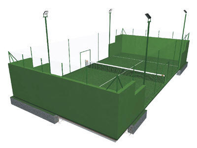 El Equipo de Gobierno aprueba la construcción de una pista de padel en el recinto del polideportivo municipal