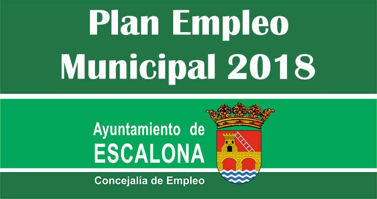 Lista de admitidos y excluidos provisional del Plan de Empleo Local 2018 del Ayuntamiento de Escalona para personal de monitores de ocio y tiempo libre y monitores de apoyo escolar