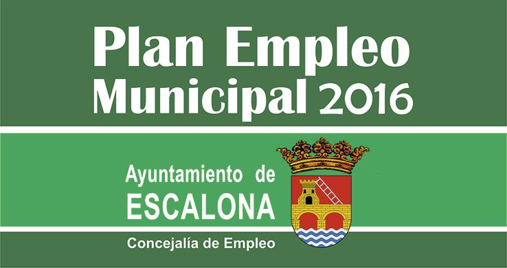Plan de empleo local del Ayuntamiento de Escalona –  Lista de admitidos y excluidos provisional
