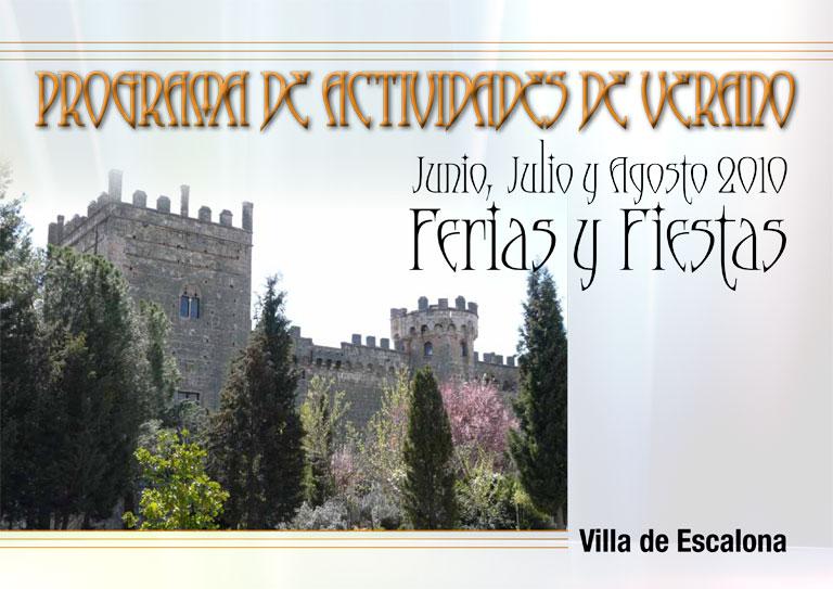 Presentado el programa cultural «Los Veranos de la Villa» junto con programa de fiestas novedoso y austero
