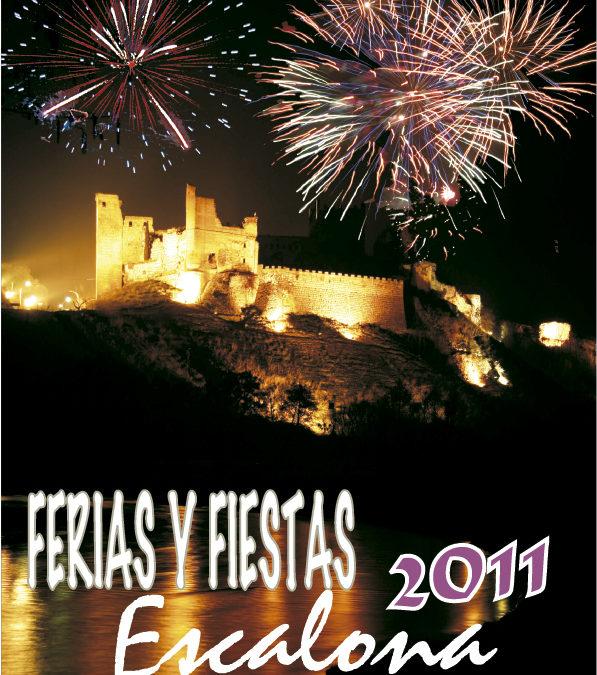 El Ayuntamiento de Escalona presenta el libro de las Ferias y fiestas 2011, con una programación diversa y austera
