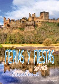 Programa de Ferias y Fiestas Verano 2012 - Ayuntamiento de Escalona