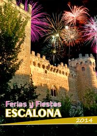 Programa de Ferias y Fiestas Verano 2014 - Ayuntamiento de Escalona