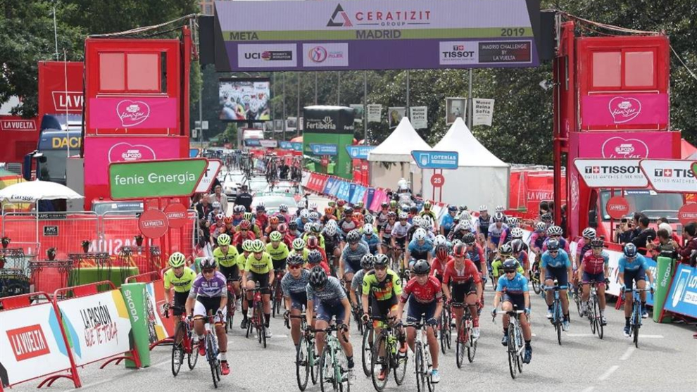Avisos de cortes de tráfico debido a la 1ª etapa de la Vuelta Ciclista a España Femenina 2020 que tiene a Escalona como META