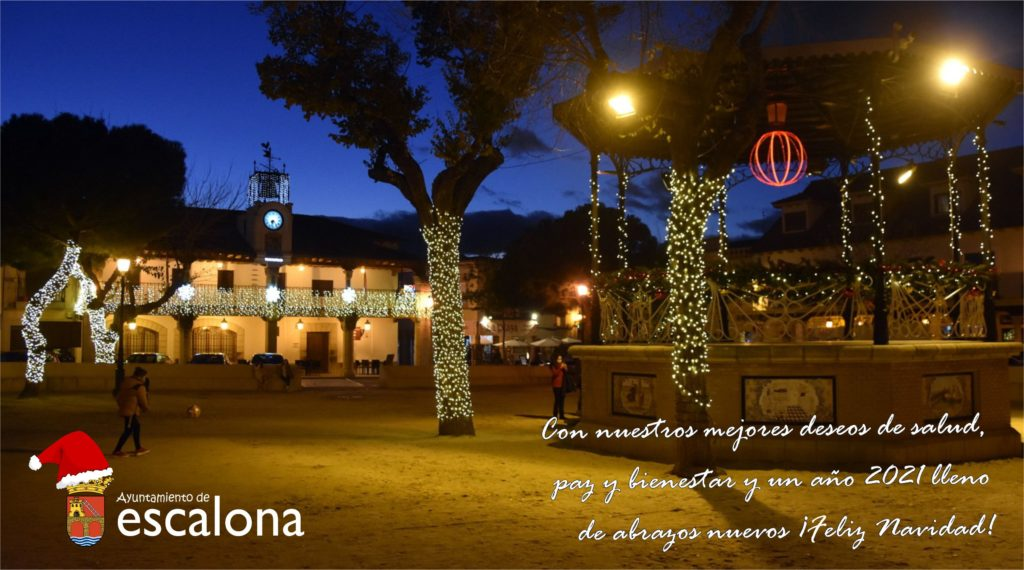 Felicitación Fiestas Navideñas - Ayuntamiento de Escalona