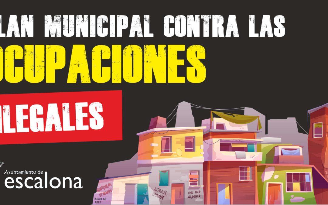 El Alcalde anuncia, con una carta a sus vecinos, un ambicioso Plan Contra las Ocupaciones Ilegales - Ayuntamiento de Escalona