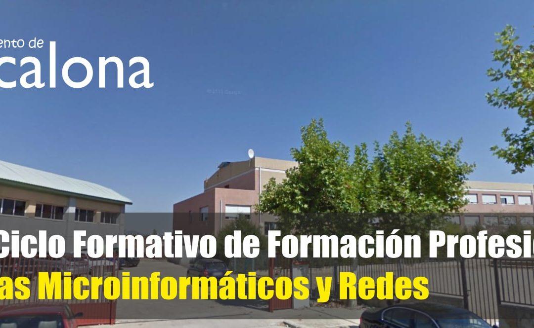 Nuevo ciclo formativo de Formación Profesional de Sistemas Microinformáticos y Redes para el Instituto de Escalona
