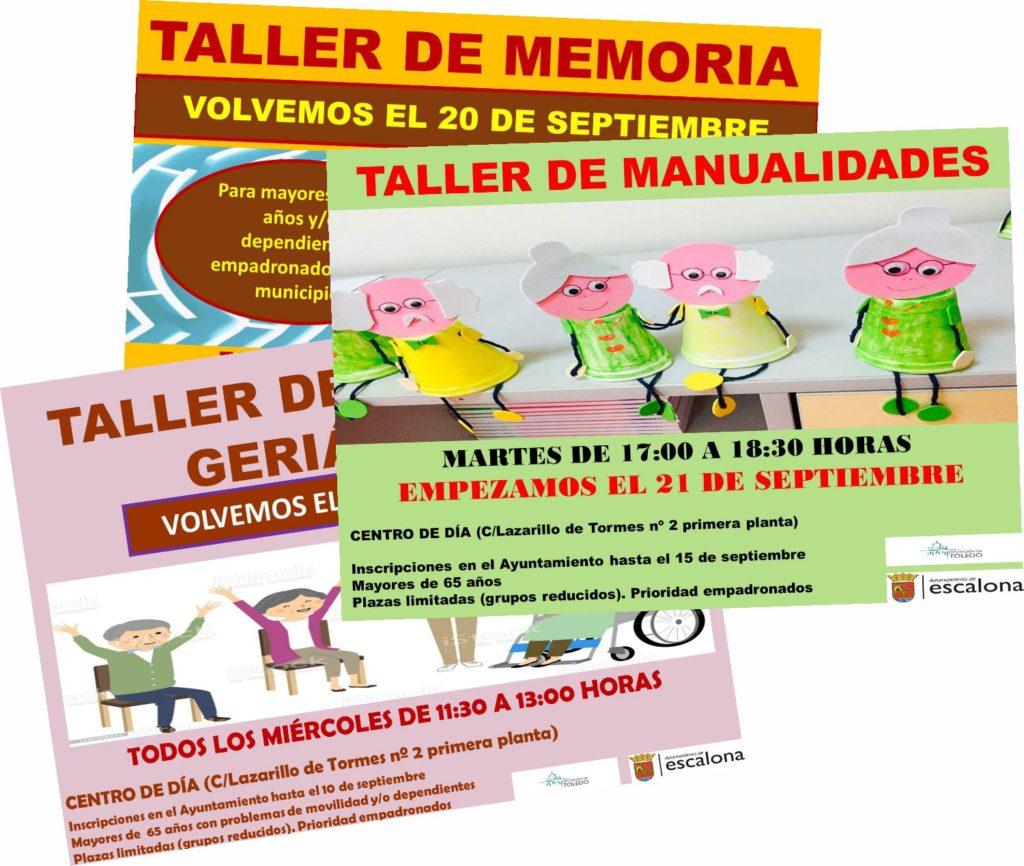 """Proyecto mayores """"mente activa, cuerpo activo"""" - Ayuntamiento de Escalona"""